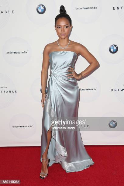 Karrueche Tran attends the 16th Annual Unforgettable Gala at The Beverly Hilton Hotel on December 9 2017 in Beverly Hills California
