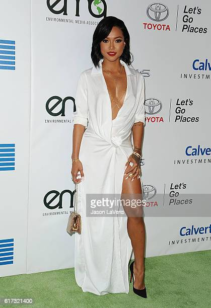 Karrueche Tran attends the 26th annual EMA Awards at Warner Bros Studios on October 22 2016 in Burbank California