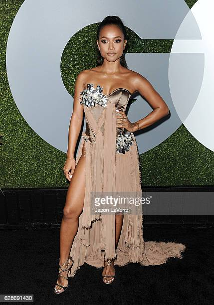 Karrueche Tran attends the GQ Men of the Year party at Chateau Marmont on December 8 2016 in Los Angeles California