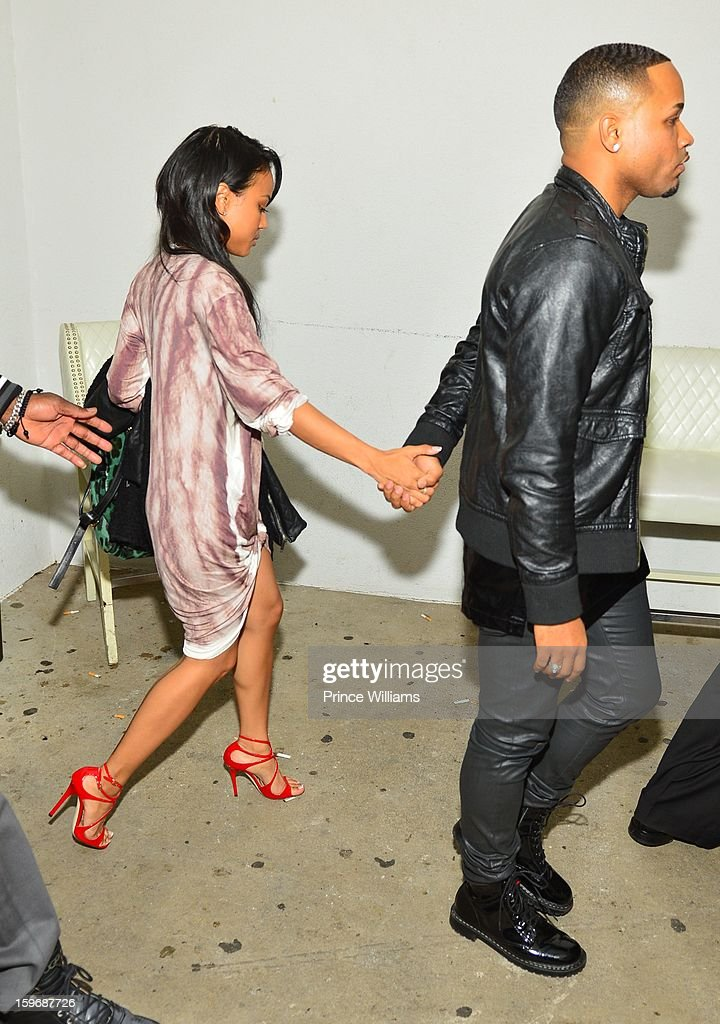 <a gi-track='captionPersonalityLinkClicked' href=/galleries/search?phrase=Karrueche+Tran&family=editorial&specificpeople=9447374 ng-click='$event.stopPropagation()'>Karrueche Tran</a> attends The Kill Collection launch at Vanquish Lounge on January 17, 2013 in Atlanta, Georgia.