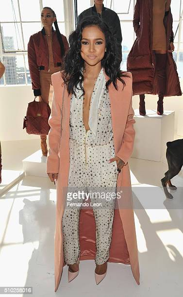 Karrueche Tran attends the Laquan Smith Presentation at Jack Studios during Fall 2016 New York Fashion Week on February 14 2016 in New York City