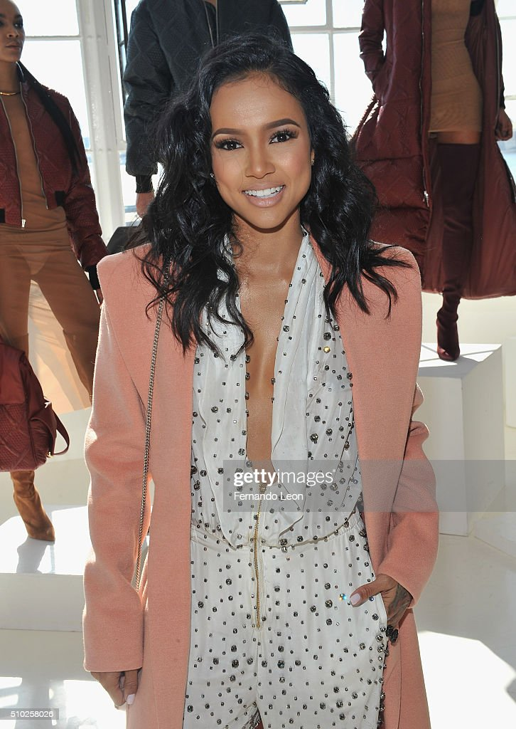 Karrueche Tran attends the Laquan Smith Presentation at Jack Studios during Fall 2016 New York Fashion Week on February 14, 2016 in New York City.