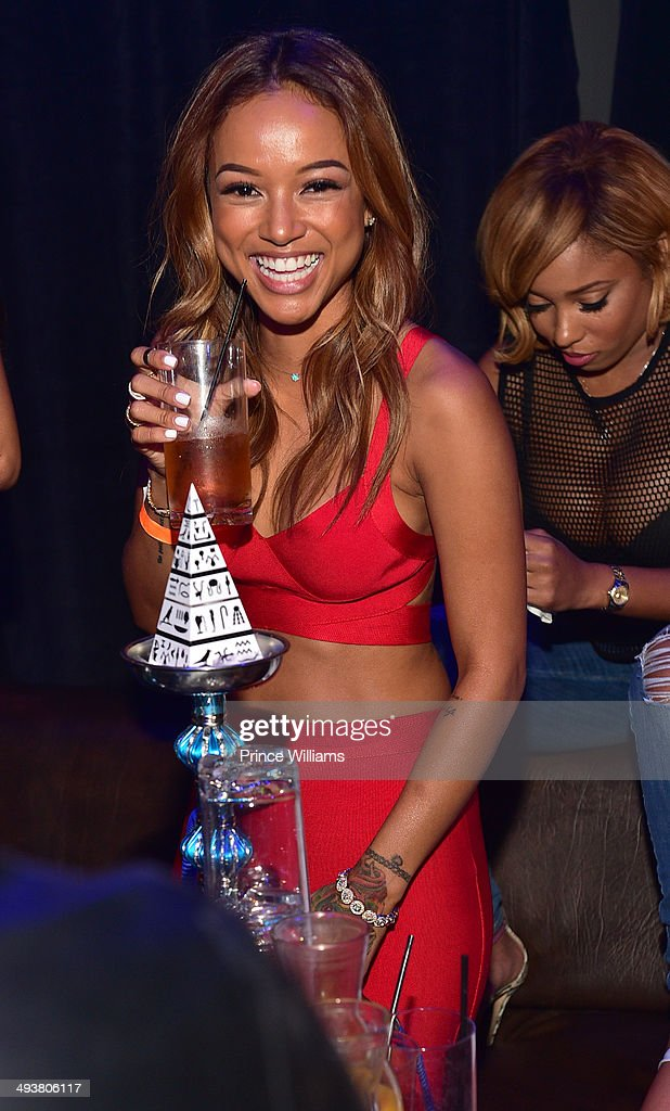 <a gi-track='captionPersonalityLinkClicked' href=/galleries/search?phrase=Karrueche+Tran&family=editorial&specificpeople=9447374 ng-click='$event.stopPropagation()'>Karrueche Tran</a> attends the ultimate Memorial Day weekend celebration hosted by T.I. and <a gi-track='captionPersonalityLinkClicked' href=/galleries/search?phrase=Karrueche+Tran&family=editorial&specificpeople=9447374 ng-click='$event.stopPropagation()'>Karrueche Tran</a> at Prive at the TW Theater on May 24, 2014 in Las Vegas, Nevada.