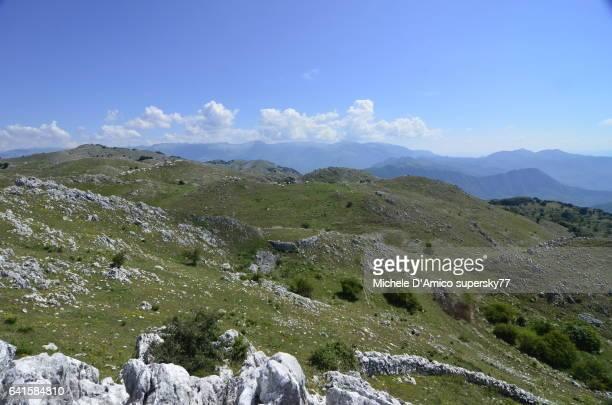 Karst landscape on the Appennines