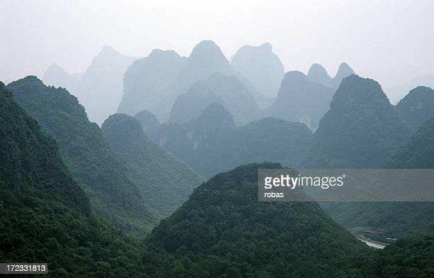 Montanhas Karst