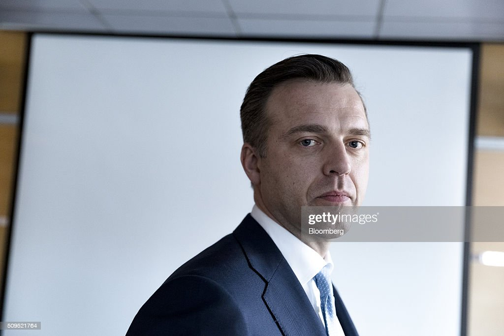 Karsten Kallevig, chief executive officer of the real estate group at Norges Bank Investment Management, poses for a photograph in Oslo, Norway, on Thursday, Feb. 11, 2016. The $840 billion fund in July, 2015, created a specific group to oversee real estate as it targets more direct management of assets. Photographer: Krister Soerboe/Bloomberg via Getty Images