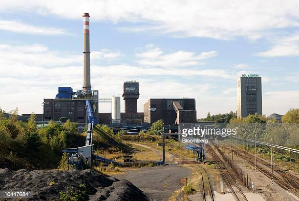 Karvina coal mine buildings stand in Ostrava Czech Republic on Friday Sept 24 2010 New World Resources NV the Czech Republic's largest supplier of...