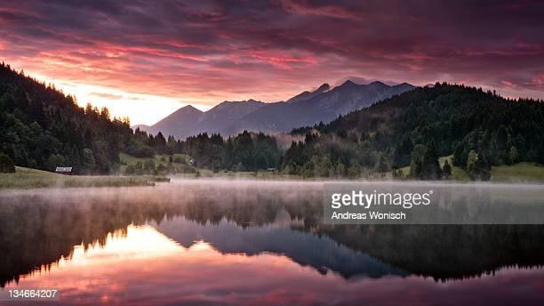 Karwendel at dawn