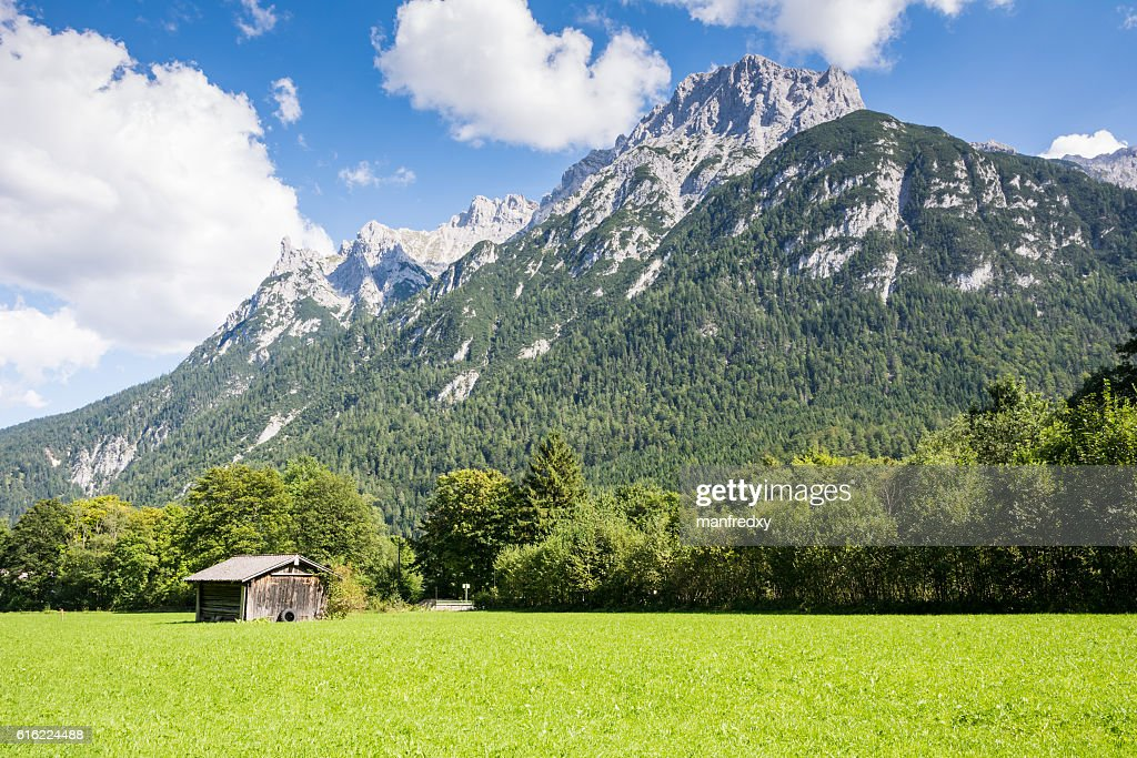 Karwendel mountain range in Bavaria : Stock-Foto