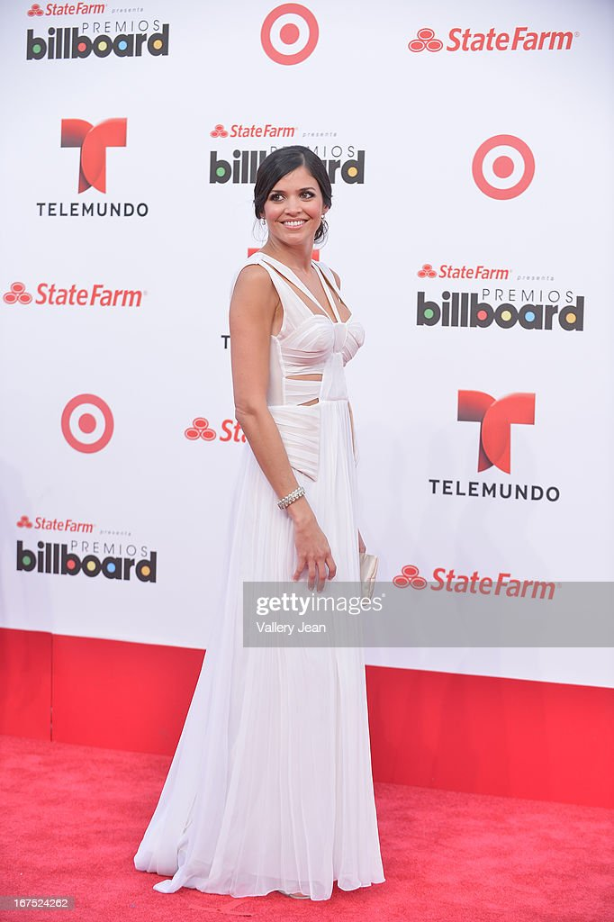 Kary Musa arrives at Billboard Latin Music Awards 2013 at Bank United Center on April 25, 2013 in Miami, Florida.