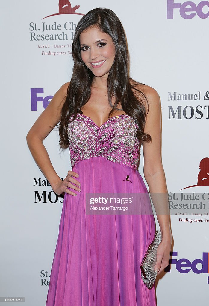 Kary Musa attends the 11th annual FedEx/St. Jude Angels & Stars Gala at JW Marriott Marquis on May 18, 2013 in Miami, Florida.