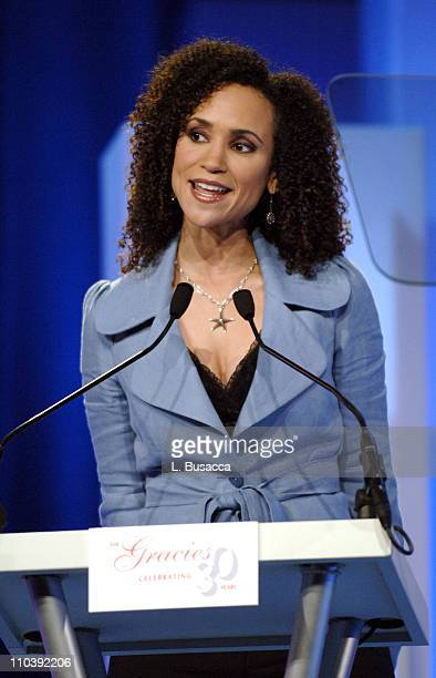 Karyn Bryant during American Women in Radio Television 30th Annual Gracie Allen Awards Show at New York Marriot Marquis Hotel in New York City New...