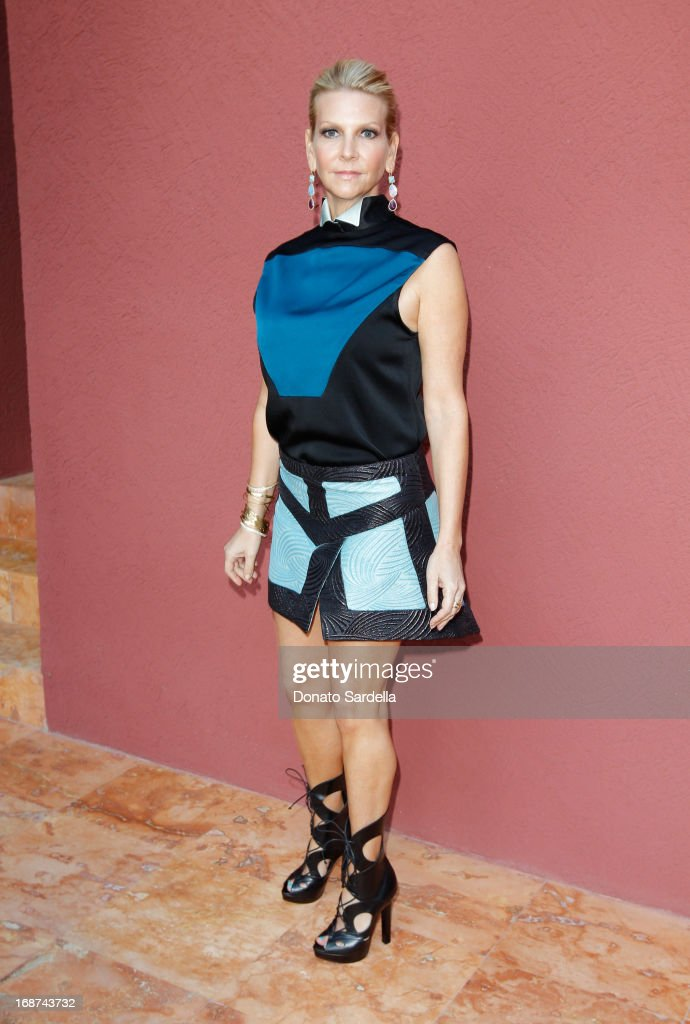 Karyn Silver attends a celebration of Jennifer Meyer's CFDA Swarovski nomination hosted by Rodarte at the residence of Joel and Karyn Silver on May 11, 2013 in Los Angeles, California.