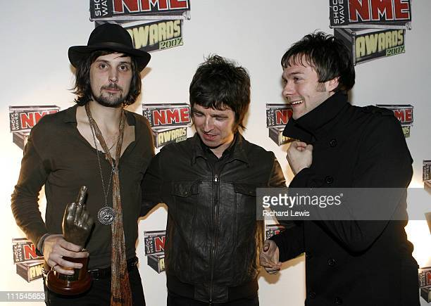 Kasabian winners of Best Live Band with Noel Gallagher