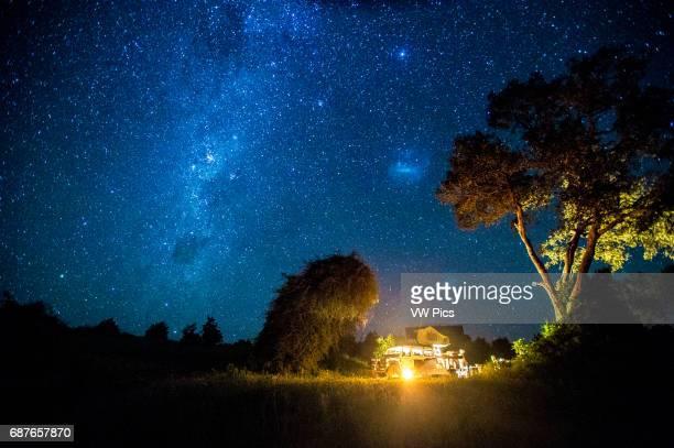 Kasane Botswana Chobe National Park Stars cape with Land Rover