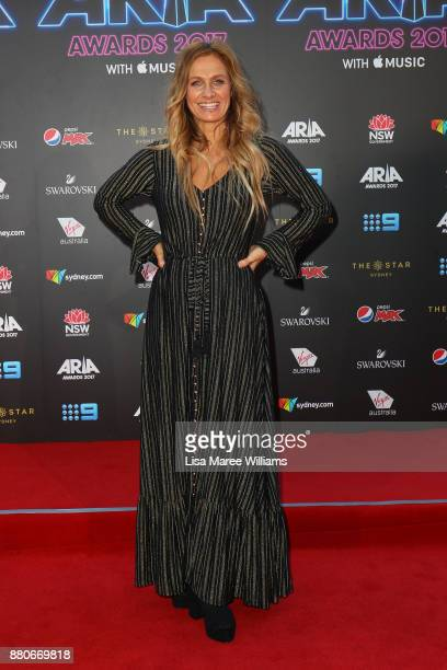 Kasey Chambers arrives for the 31st Annual ARIA Awards 2017 at The Star on November 28 2017 in Sydney Australia