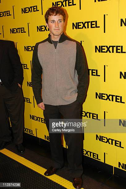 Kasey Kahne during 2004 Nascar Nextel Cup Series Champion's Celebration at Marquee in New York City New York United States