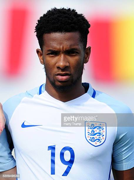 Kasey Palmer of England during the Toulon Tournament match between Japan and England at the Stade Leo Lagrange on May 27 2016 in Toulon France