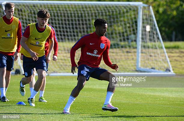 Kasey Palmer of England U21 during the England U21 Training Session and Press Conference at St Georges Park on May 16 2016 in BurtonuponTrent England
