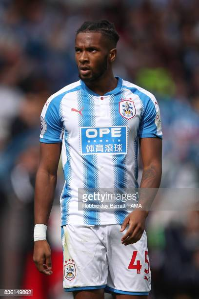 Kasey Palmer of Huddersfield Town during the Premier League match between Huddersfield Town and Newcastle United at Galpharm Stadium on August 20...