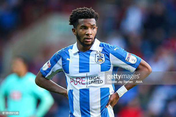 Kasey Palmer of Huddersfield Town during the Sky Bet Championship match between Huddersfield Town and Derby County at John Smith's Stadium on October...