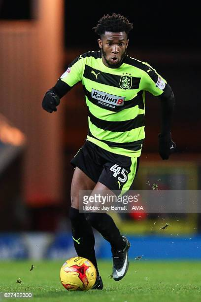 Kasey Palmer of Huddersfield Town during the Sky Bet Championship match between Blackburn Rovers and Huddersfield Town at Ewood Park on December 3...