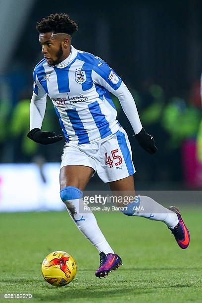 Kasey Palmer of Huddersfield Town during the Sky Bet Championship match between Huddersfield Town and Wigan Athletic at John Smith's Stadium on...