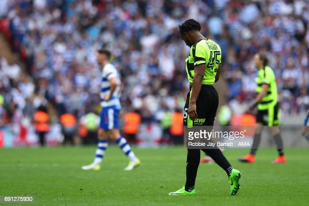 Kasey Palmer of Huddersfield Town during the Sky Bet Championship Play Off Final match between Reading and Huddersfield Town at Wembley Stadium on...
