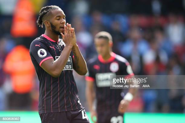Kasey Palmer of Huddersfield Town reacts during the Premier League match between Crystal Palace and Huddersfield Town at Selhurst Park on August 12...