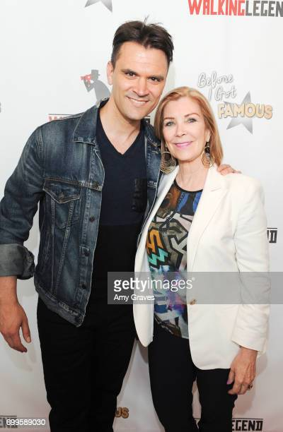 Kash Hovey and Michelle Beaulieu attend the 'Before I Got Famous' Screening in Los Angeles on June 11 2017 in Los Angeles California *** Kash...