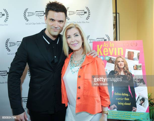 Kash Hovey and Michelle Beaulieu attend the Premiere Of 'As In Kevin' At Socal Clips Indie Film Fest on August 12 2017 in Los Angeles California