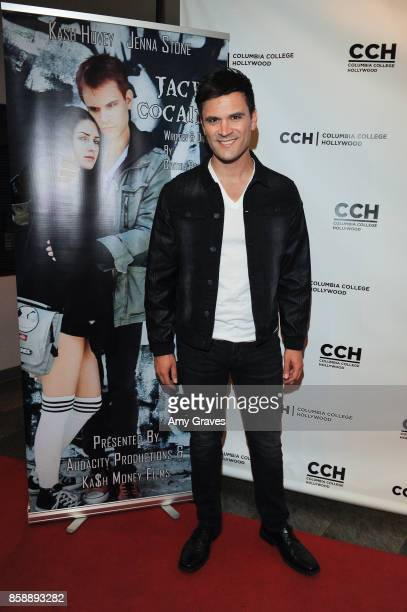 Kash Hovey attends the 'Jack And Cocaine' Screening At The Valley Film Festival at Columbia College Hollywood on October 7 2017 in Los Angeles...