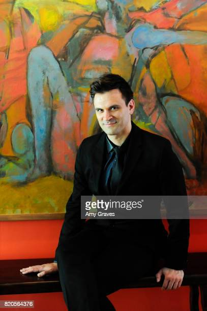 Kash Hovey poses for a portrait at a private residence on July 21 2017 in Beverly Hills California