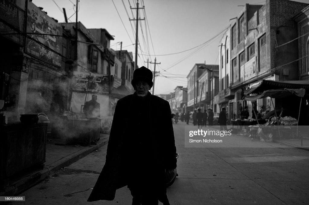 CONTENT] Kashgar street, Xinjiang