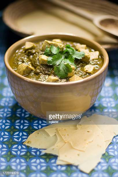 Kashmir Spinach and Paneer