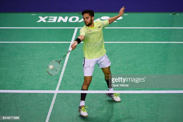 Kashyap PARUPALLI / Simple Homme Yonex Internationaux de France 2015 Photo Dave Winter / Icon Sport