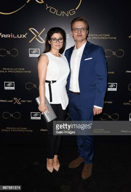 Kasia Cichopek attends the Forever Young Varilux gala on June 06 2017 at the IMKA Theatre in Warsaw Poland The gala was organized by a producer of...