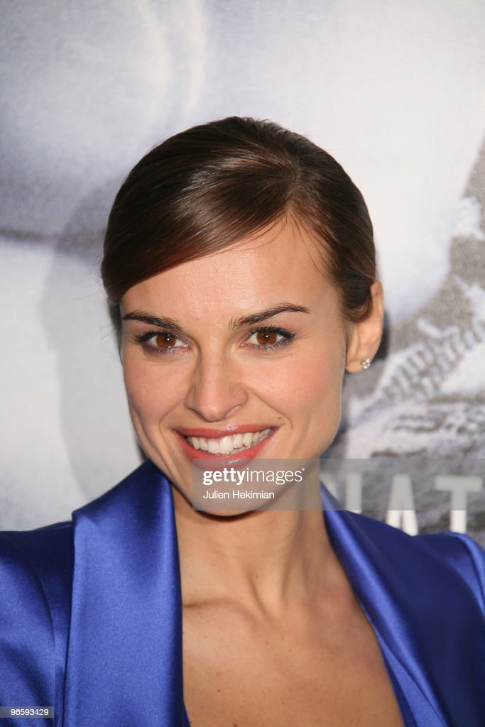 Kasia Smutniak attends 'From Paris with Love' Paris premiere at Cinema UGC Normandie on February 11 2010 in Paris France
