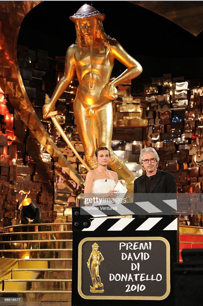 Kasia Smutniak attends the 'David Di Donatello' movie awards at the Auditorium Conciliazione on May 7 2010 in Rome Italy
