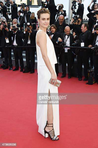 Kasia Smutniak attends the 'Mia Madre' Premiere during the 68th annual Cannes Film Festival on May 16 2015 in Cannes France
