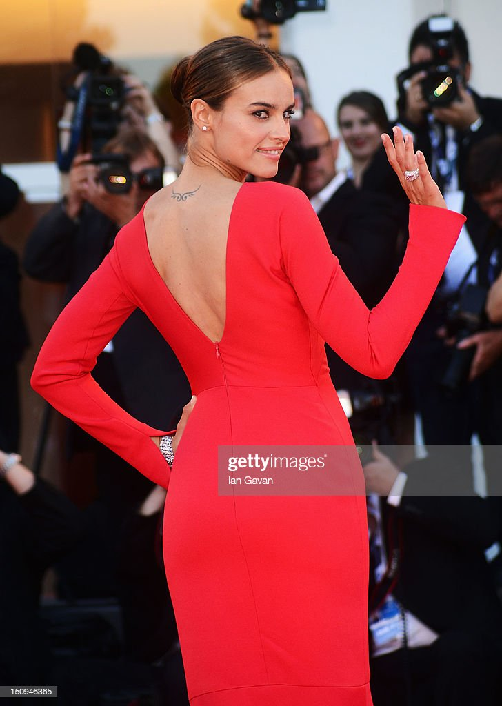 Kasia Smutniak attends 'The Reluctant Fundamentalist' Premiere And Opening Ceremony during the 69th Venice International Film Festival at Palazzo del Cinema on August 29, 2012 in Venice, Italy.