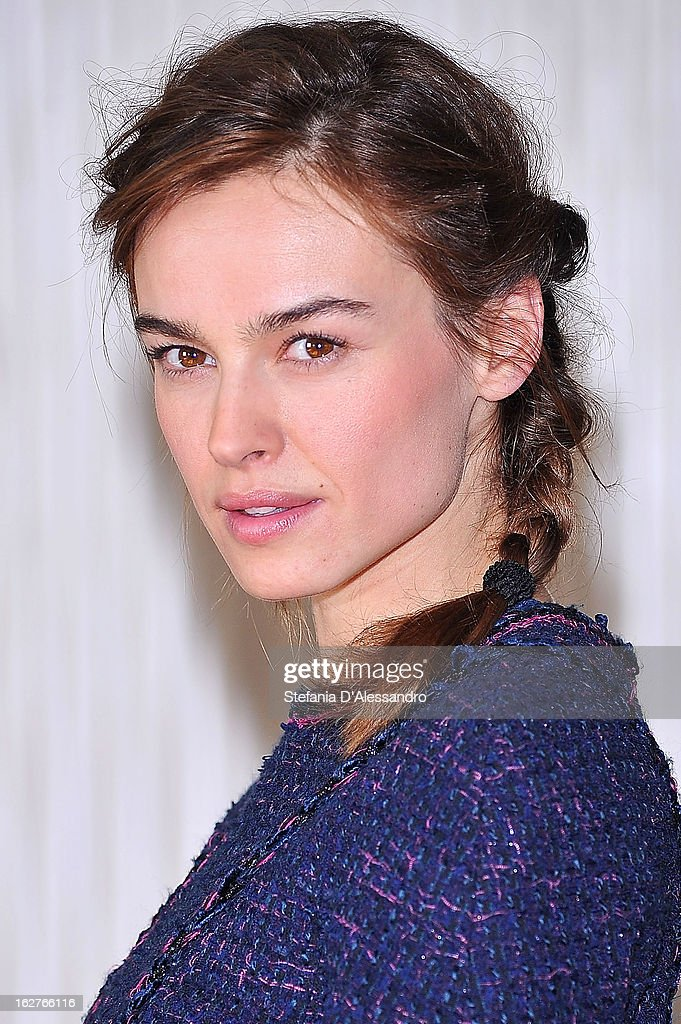Kasia Smutniak attends 'Tutti Contro Tutti' Photocall on February 26, 2013 in Milan, Italy.