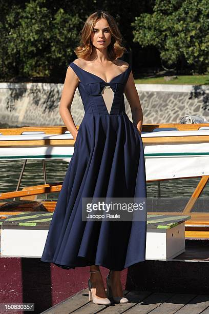 Kasia Smutniak is seen during The 69th Venice International Film Festival on August 27 2012 in Venice Italy