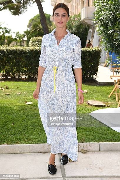 Kasia Smutniak poses after the Kineo Diamanti Award press conference during the 73rd Venice Film Festival at on September 4 2016 in Venice Italy