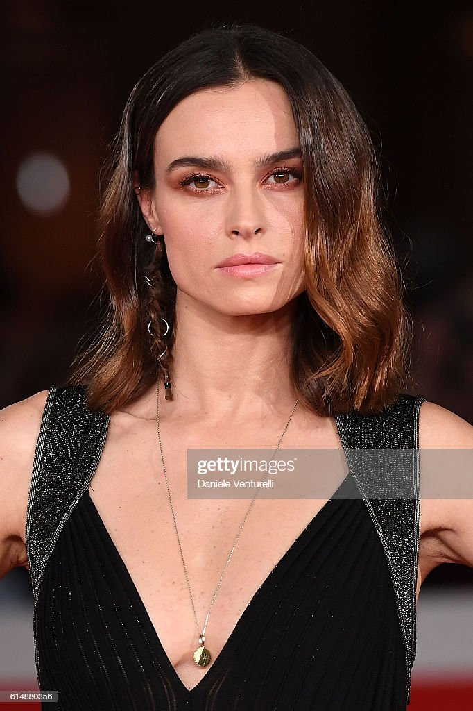 Kasia Smutniak walks a red carpet for 'Sole Cuore Amore' during the 11th Rome Film Festival at Auditorium Parco Della Musica on October 15, 2016 in Rome, Italy.