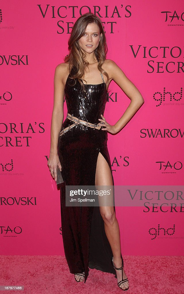Kasia Struss attends the after party for the 2013 Victoria's Secret Fashion Show at TAO Downtown on November 13, 2013 in New York City.