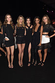 Kasia Struss Sigrid Agren Jacquelyn Jablonski Joan Smalls and Jac Jagaciak attend the After Party following the 2014 Victoria's Secret Fashion Show...