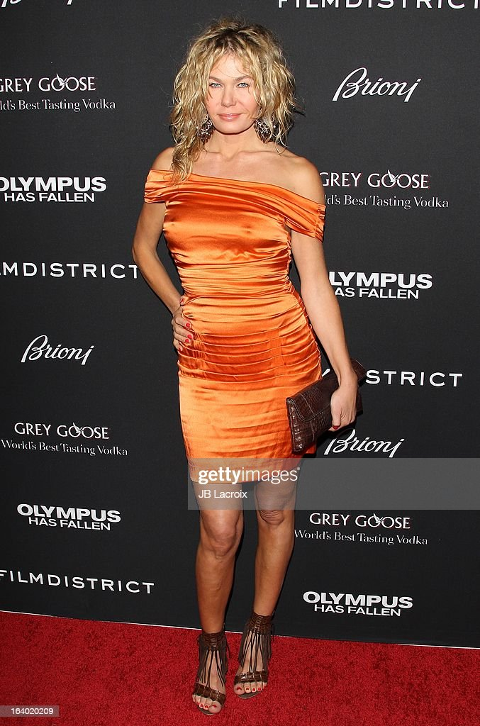 Kasia Wolejnio attends the 'Olympus Has Fallen' Los Angeles Premiere held at ArcLight Cinemas Cinerama Dome on March 18, 2013 in Hollywood, California.