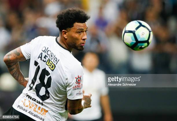 Kasim Kasim of Corinthians in action during the match between Corinthians and Atletico GO for the Brasileirao Series A 2017 at Arena Corinthians...