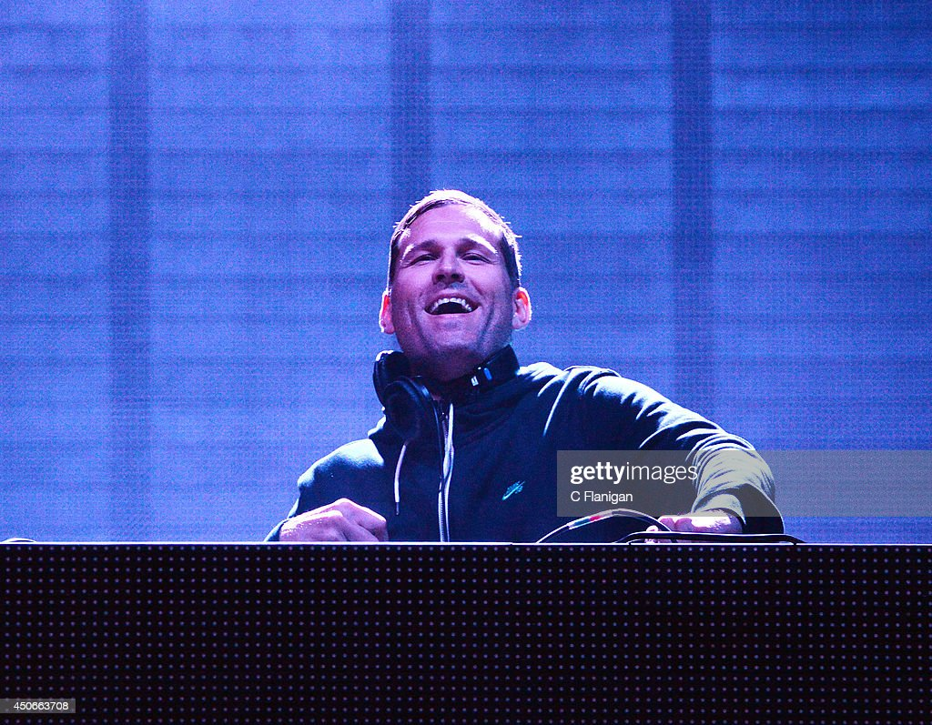Kaskade aka Ryan Raddon performs during the 2014 Bonnaroo Music & Arts Festival on June 14, 2014 in Manchester, Tennessee.